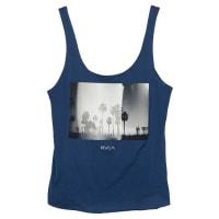 RvcaRvca Costal Palm Drape - T-Shirt für Damen - Blau