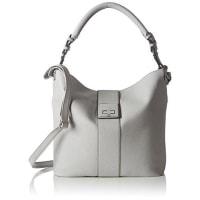 s.Oliver(Bags) Damen mit Metallverschluß Henkeltaschen, 42x32x11 cm
