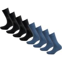 s.Oliver Red Label8 Paar Socken blau / schwarz