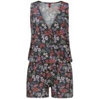 s.Oliver Red LabelBeachwear Overall mit Blumendruck mischfarben