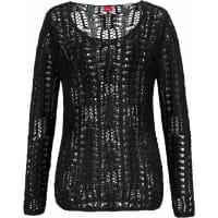 s.Oliver Red LabelBeachwear Strandpullover schwarz