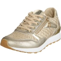 s.Oliver Red LabelSneaker im Metallic-Look gold