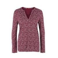 s.Oliver Red LabelTunika-Shirt aus Flammgarnjersey rot