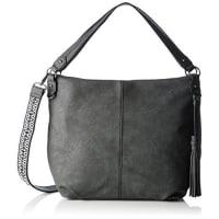 s.Oliver(Bags) Damen Shopper Tasche, Grau (Smoked Pearl Grey), 10,5x33x47 cm