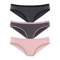 s.Oliver Red LabelSlips (3 Stück) grau / pink