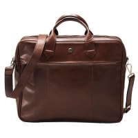 SaddlerLaptop Bag Norvald Dk.Brown