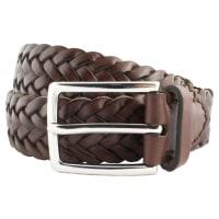 SaddlerLeather Belt Men Brown