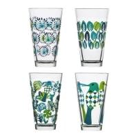 SagaformFantasy glass large 4-pakk blå