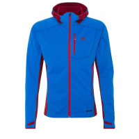 SalomonMONT BARON Giacca softshell union blue/victory red