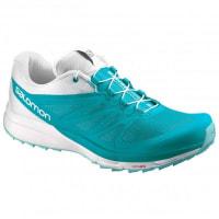 SalomonSense Pro 2 Runningschuhe für Damen   türkis/grau