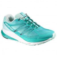 SalomonSense Propulse Runningschuhe für Damen   türkis/grau