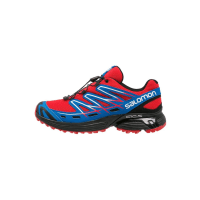 SalomonWINGS FLYTE Løpesko for mark bright red/black/union blue