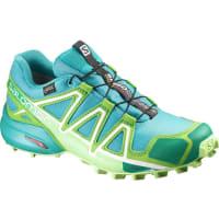 SalomonWs Speedcross 4 GTX Shoes Teal Blue F/Peppermint/Fresh Green UK 4,5 Trailrunning Skor