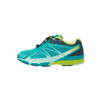 SalomonXSCREAM 3D Løpesko for mark teal blue/slate blue/ganny green