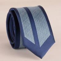 SammydressAncho con estilo Deep Blue rayado 6CM corbata para los hombres