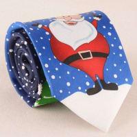 SammydressCarnival Santa Claus with Snowman Christmas Tie