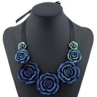 SammydressRose Embellished Necklace