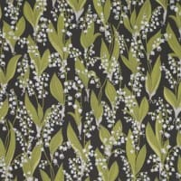 SandbergPapel pintado Lily of the Valley negro