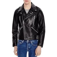 SandroFan Leather Jacket