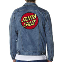 Santa CruzBig Dot Denim Jacket Blue