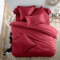 ScénarioUnifarbener Bettbezug aus Flanell