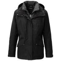 SchöffelDoppel-Jacke GORE-TEX-Membran Schöffel schwarz