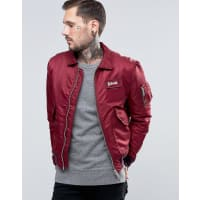 Schott NYCNylon Flight Bomber - Red