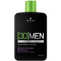 Schwarzkopf ProfessionalHaarpflege (3D) Men Aktivierendes Shampoo 250 ml