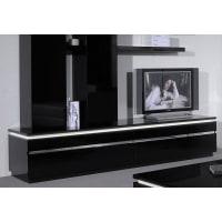 SciaeTV-Lowboard in 2 Farben, schwarz, ohne Aufbauservice, schwarz