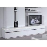 SciaeTV-Lowboard in 2 Farben, weiß, ohne Aufbauservice, weiß