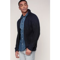 Scotch & SodaGilet marine/bleu col retourné - Scotch & soda