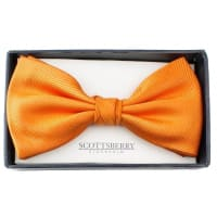 ScottsberryBow Tie Orange