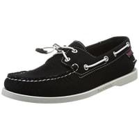 SebagoDocksides, Chaussures bateau homme, Noir (Black), 41 EU (7 UK)