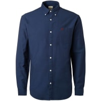 SelectedOxford -Langarmhemd blau