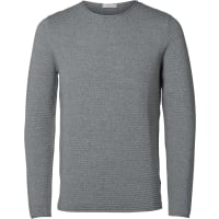 SelectedSHDNew Gary Crew Neck Strickpulli blue nights mel