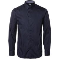 SelectedSlim-Fit-Hemd blau