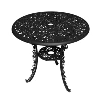 SelettiIndustry Garden Table - Black