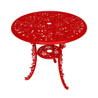 SelettiIndustry Garden Table - Red