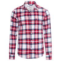 Sergio K.Camisa Masculina Navy RÚstica - Vermelho