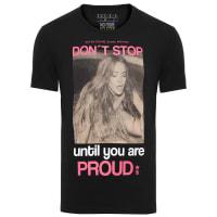 Sergio K.Camiseta Masculina Proud Lisdsay - Preto