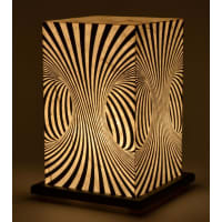 Shady IdeasBlack Handcrafted Lamp