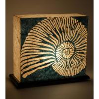 Shady IdeasBlue Handcrafted Lamp