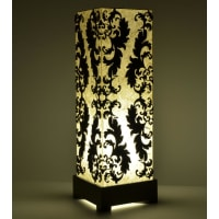 Shady IdeasBrown Handcrafted Lamp