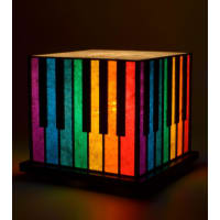 Shady IdeasMulticoloured Handcrafted Lamp