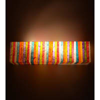 Shady IdeasMulticoloured Printed Recycled Acrylic Lamp