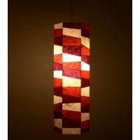 Shady IdeasMulticoloured Printed Steel Lamp