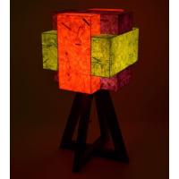 Shady IdeasOrange & Purple Handcrafted Lamp