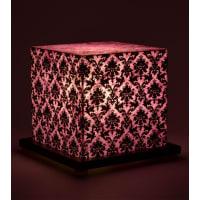 Shady IdeasPurple & Black Handcrafted Lamp