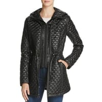 Shelli SegalLaundry by Shelli Segal Drawcord Waist Quilted Jacket