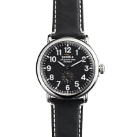 Shinola41mm Runwell Mens Watch, Black/Black